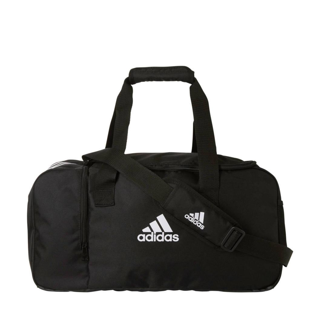 adidas Performance   sporttas Tiro DU S zwart, Zwart/wit