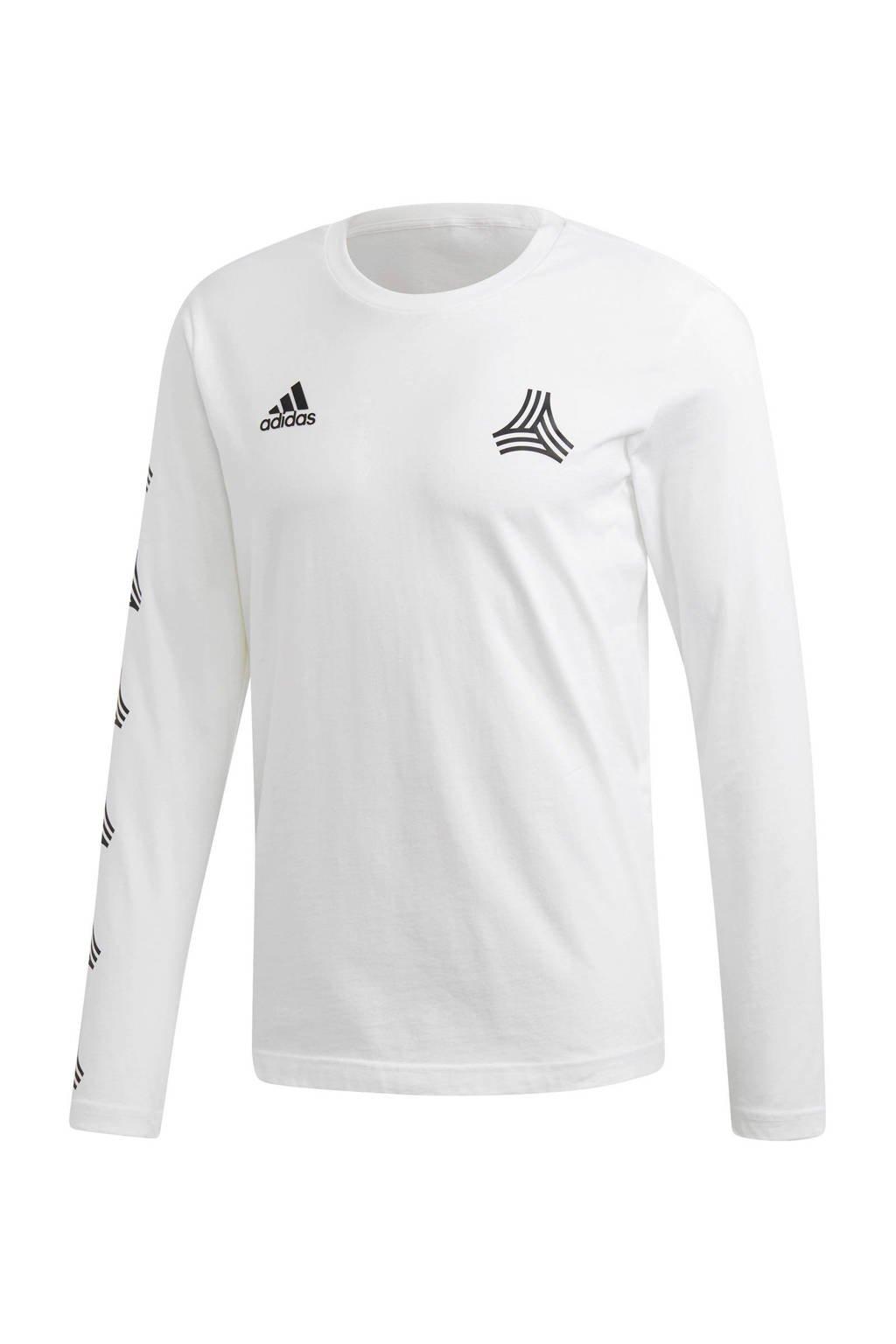 adidas performance   sport T-shirt, Wit/zwart