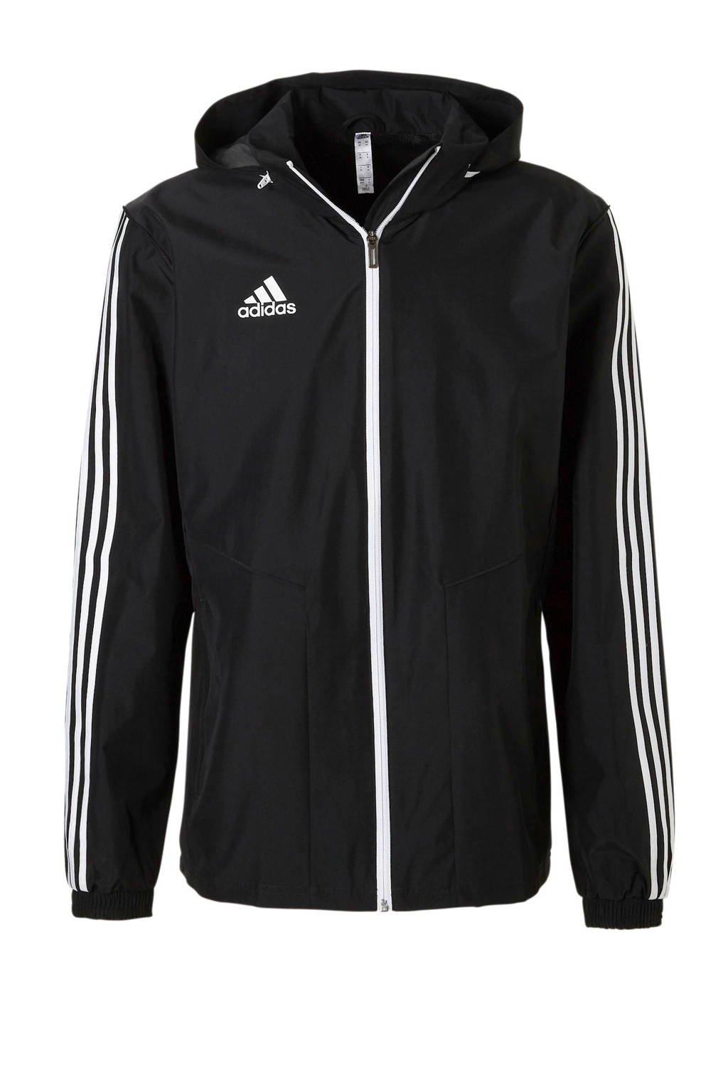 adidas Performance   sportjack Tiro 19 zwart, Zwart/wit