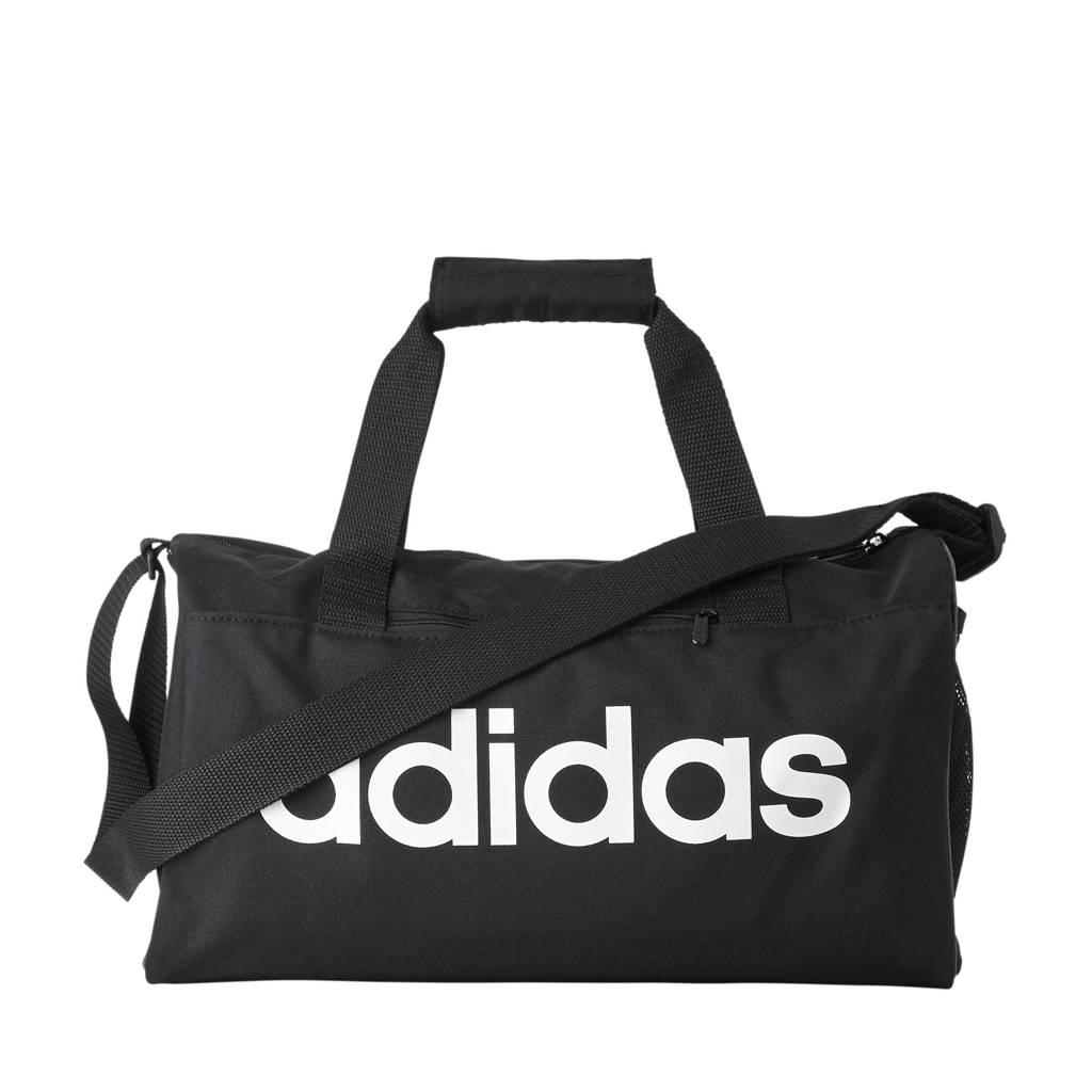 adidas performance Junior  sporttas Core Duf XS zwart, Zwart
