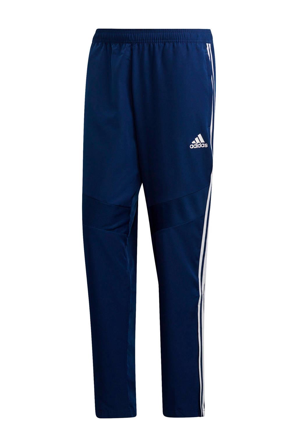 adidas Performance   voetbalbroek Tiro 19 donkerblauw, Donkerblauw