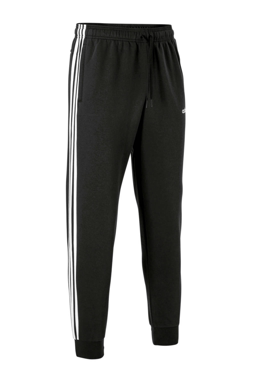adidas Performance   fleecesportbroek zwart/wit, Zwart/wit