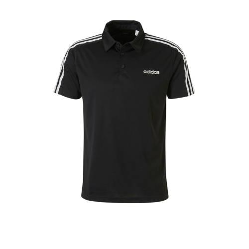 adidas performance sportpolo zwart kopen