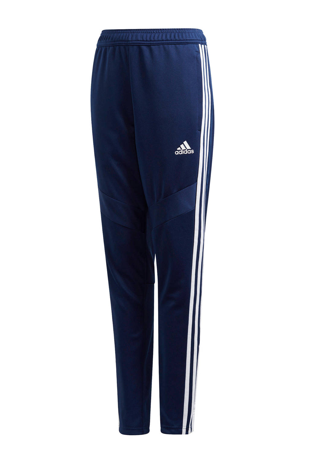 adidas performance   sportbroek donkerblauw, Donkerblauw/wit