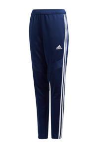 adidas   sportbroek donkerblauw, Donkerblauw/wit