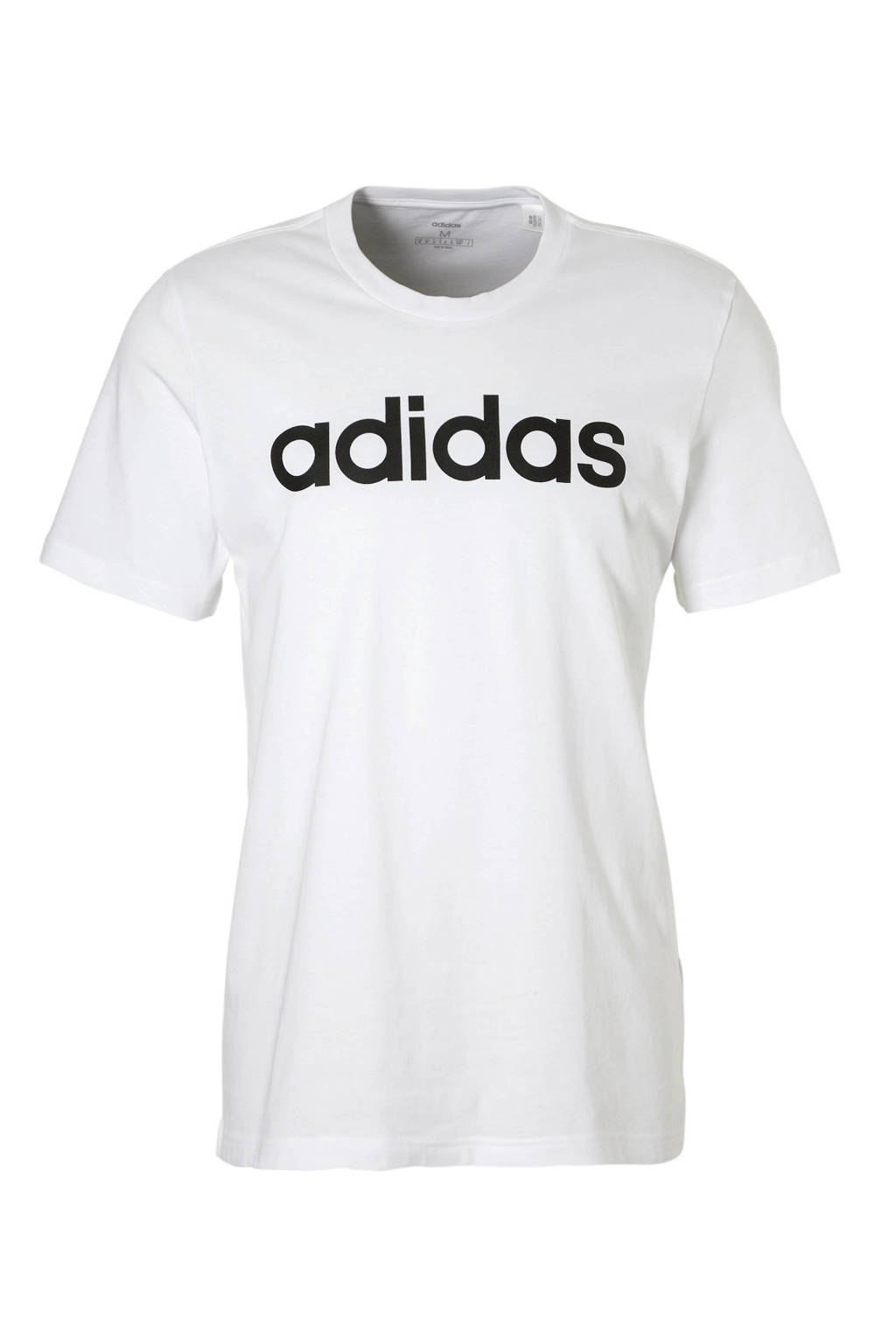 adidas Performance   sport T-shirt wit, Wit/zwart