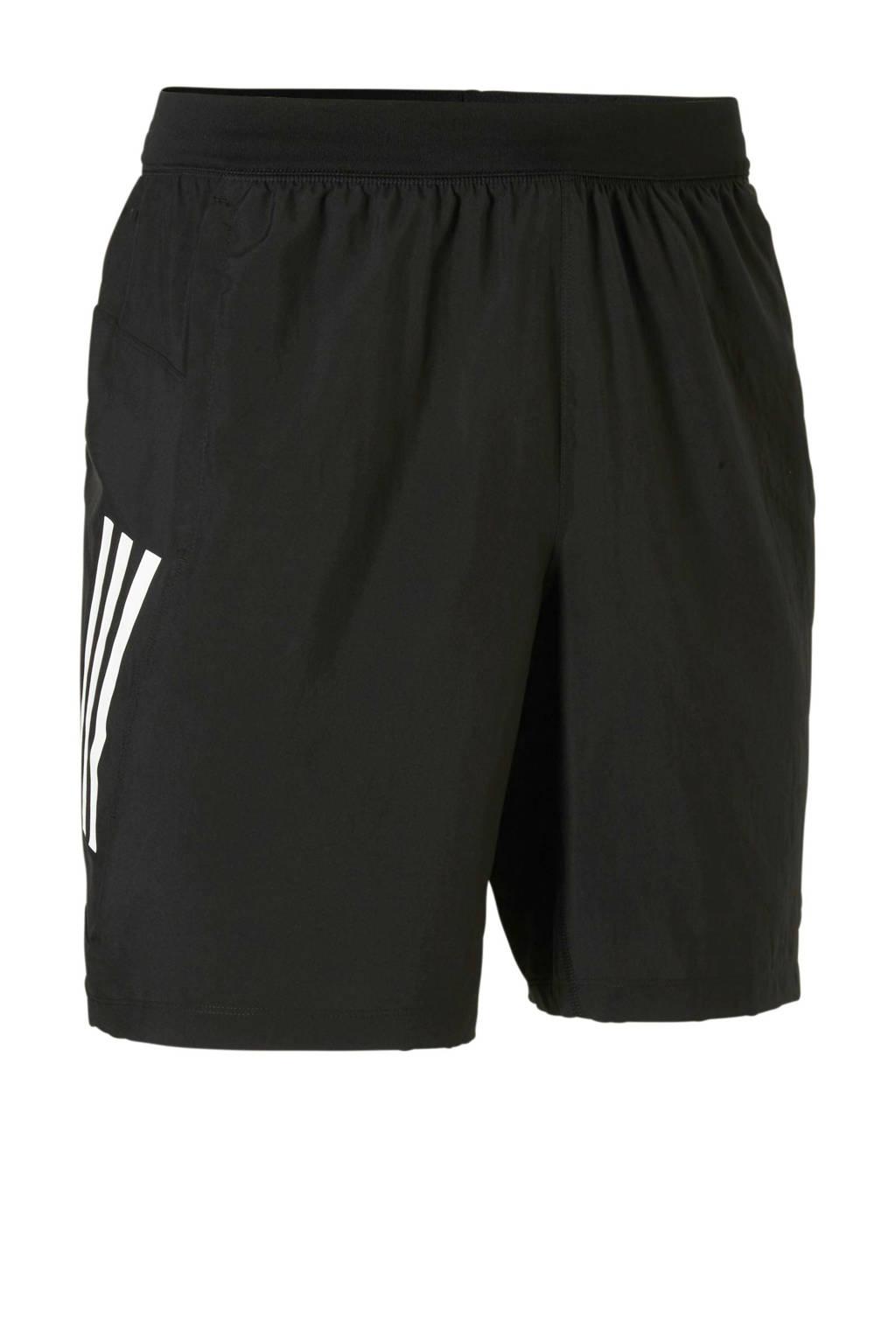 adidas   sportshort, Zwart/wit