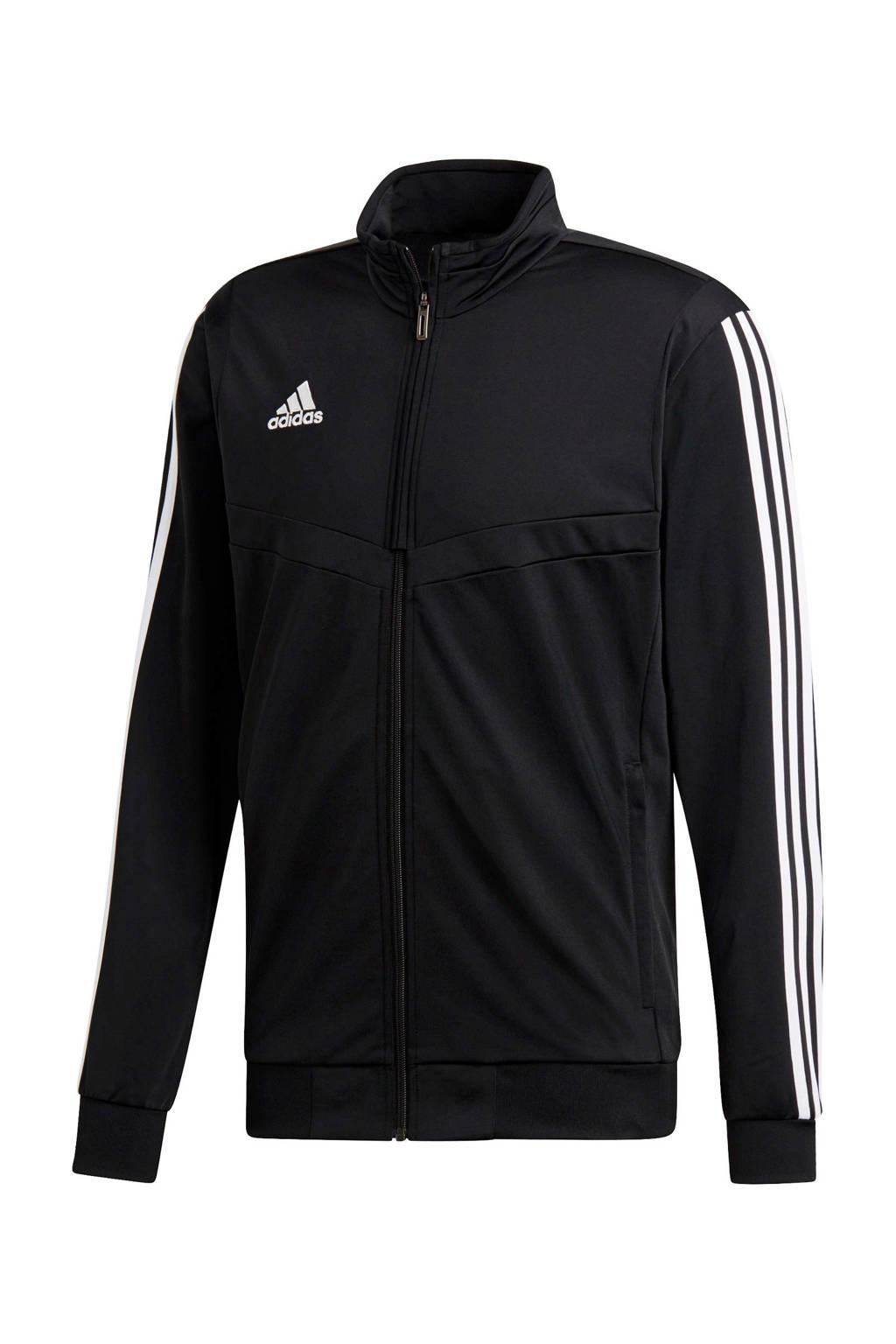 adidas performance   vest zwart, Zwart/wit