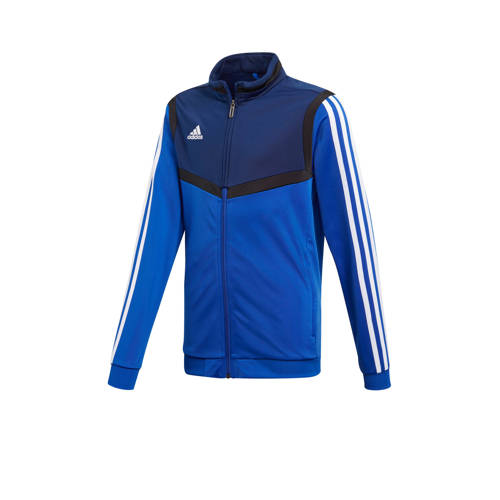 adidas performance sportvest blauw