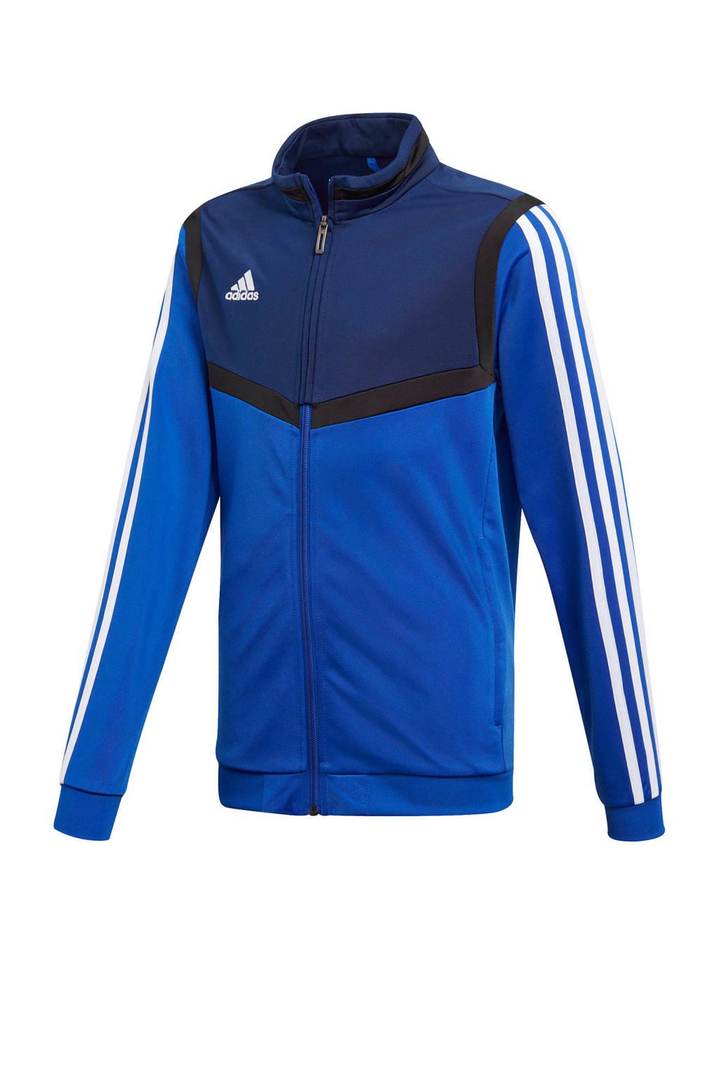 adidas performance   sportvest blauw, Blauw/donkerblauw/wit