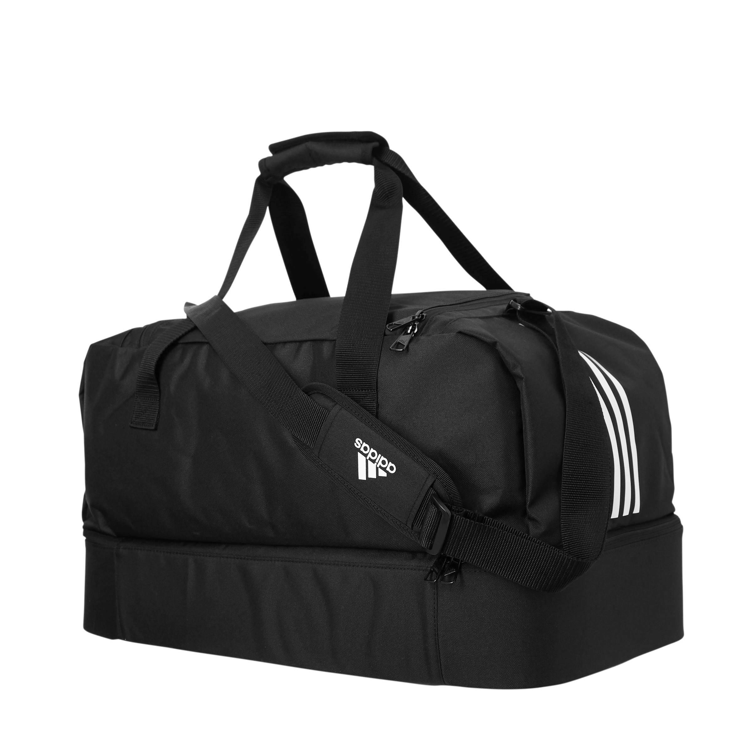 adidas Performance sporttas Tiro M zwart   wehkamp