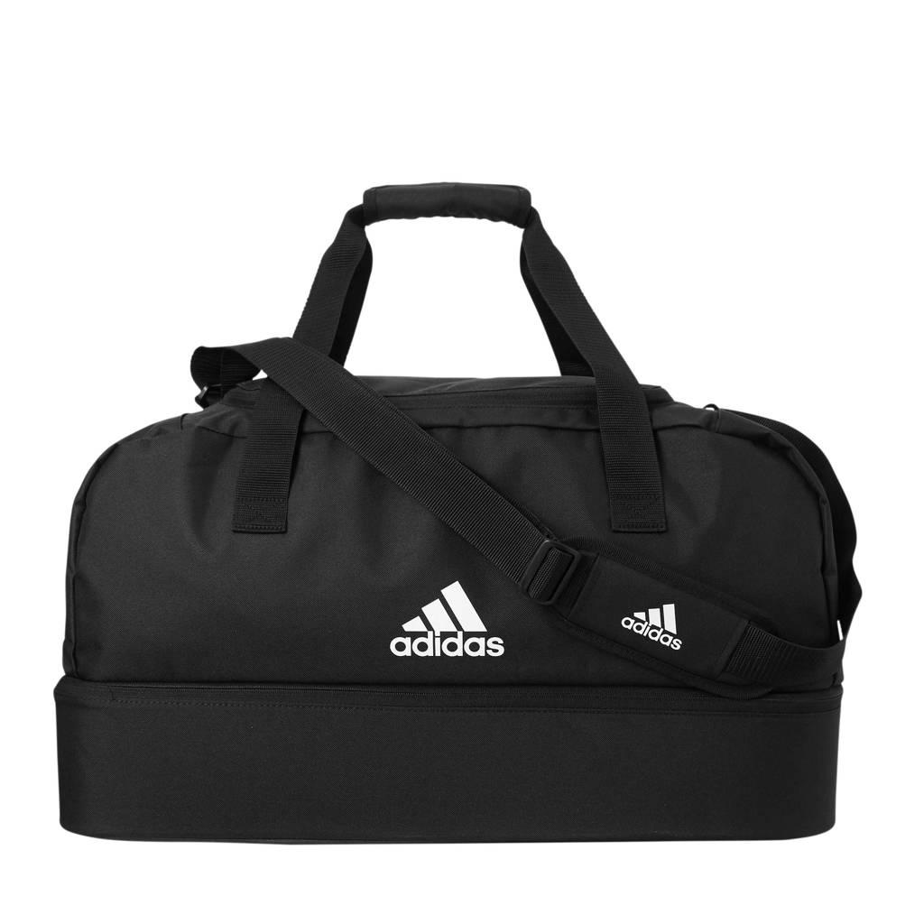 adidas performance   sporttas Tiro M zwart, Zwart/wit