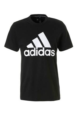 performance   sport T-shirt zwart
