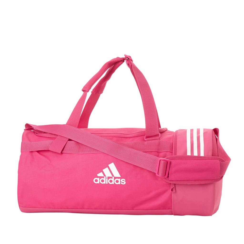 adidas performance   sporttas CVRT 3S DUF M roze, Roze/wit