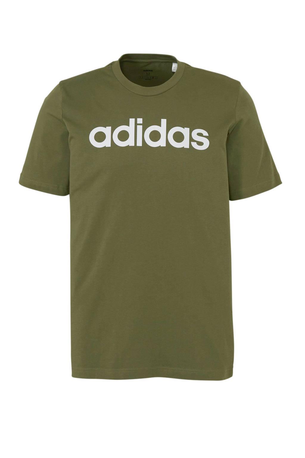 adidas performance   sport T-shirt kaki, Kaki