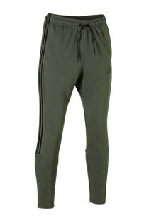 adidas performance   joggingbroek mosgroen (heren)