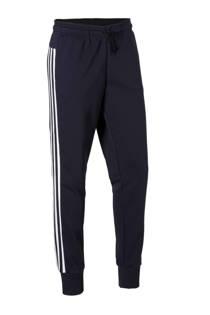 adidas performance joggingbroek donkerblauw/wit (dames)
