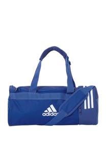 adidas performance   sporttas CVRT 3S DUF S blauw