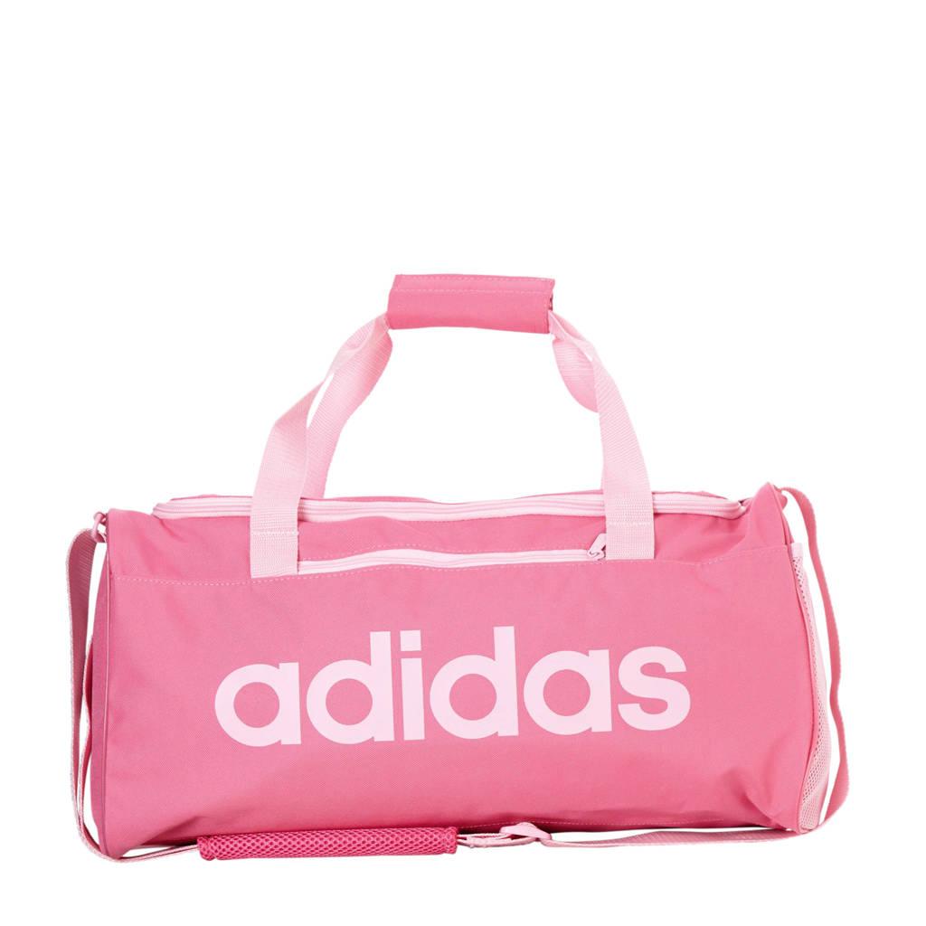adidas performance   sporttas Core Duf S zwart, Roze