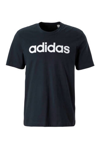 performance   sport T-shirt donkerblauw