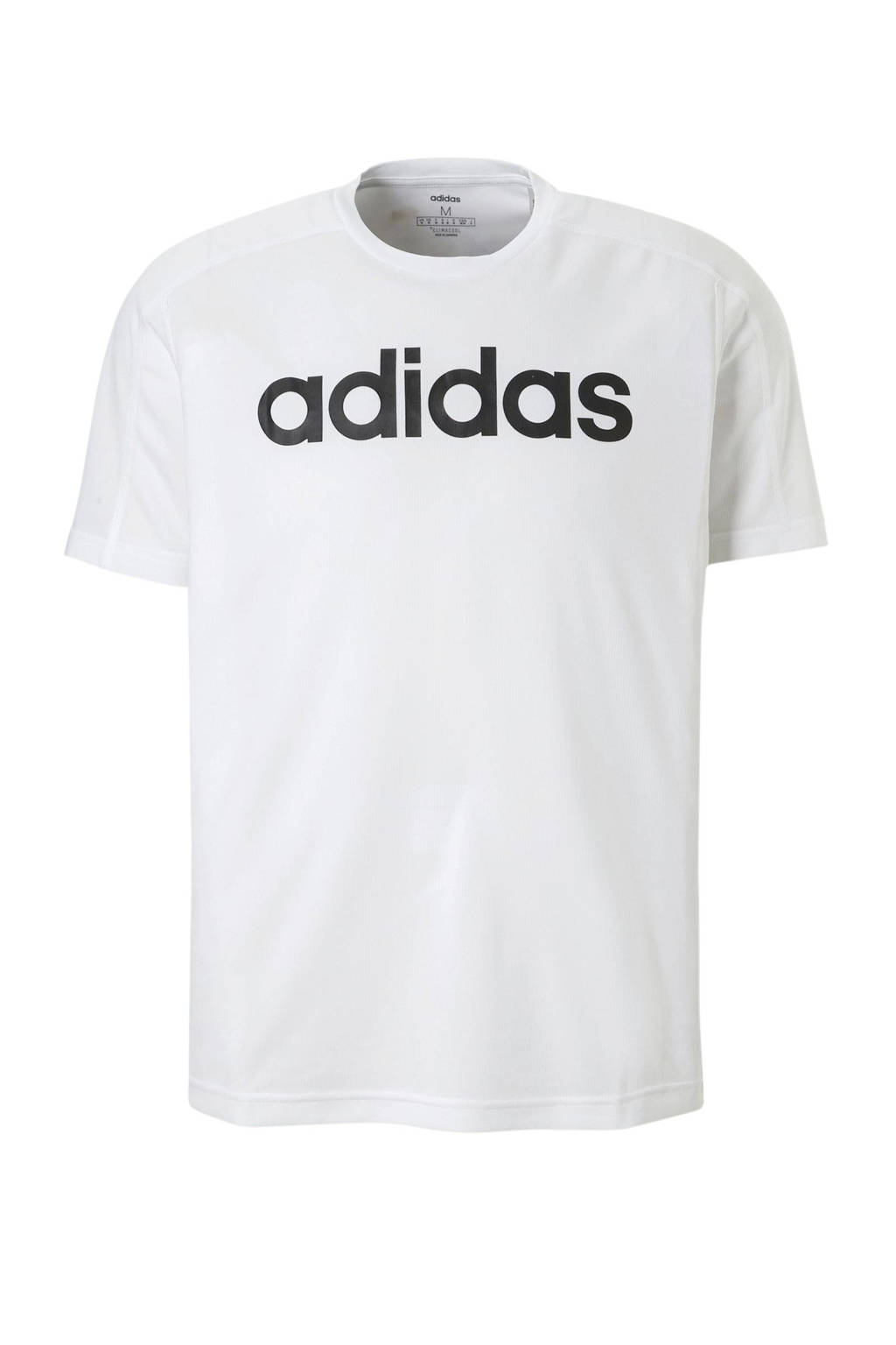 adidas performance   sport T-shirt wit, Wit