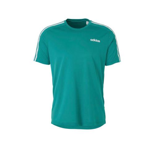 adidas performance sport T-shirt groen kopen
