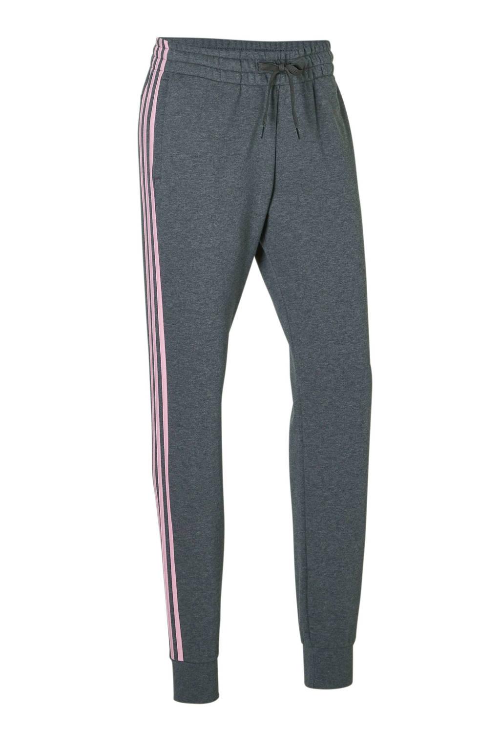 adidas performance joggingbroek grijs, Grijs/roze