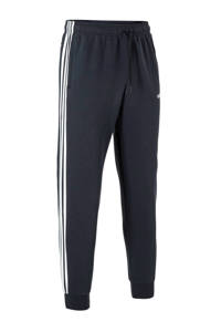 adidas   joggingbroek donkerblauw, Donkerblauw/wit