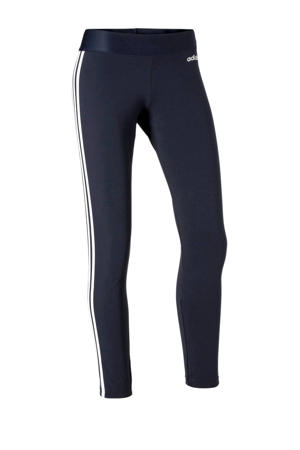 sportlegging donkerblauw/wit