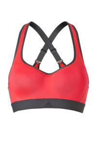 adidas / adidas performance sportbh roze/grijs