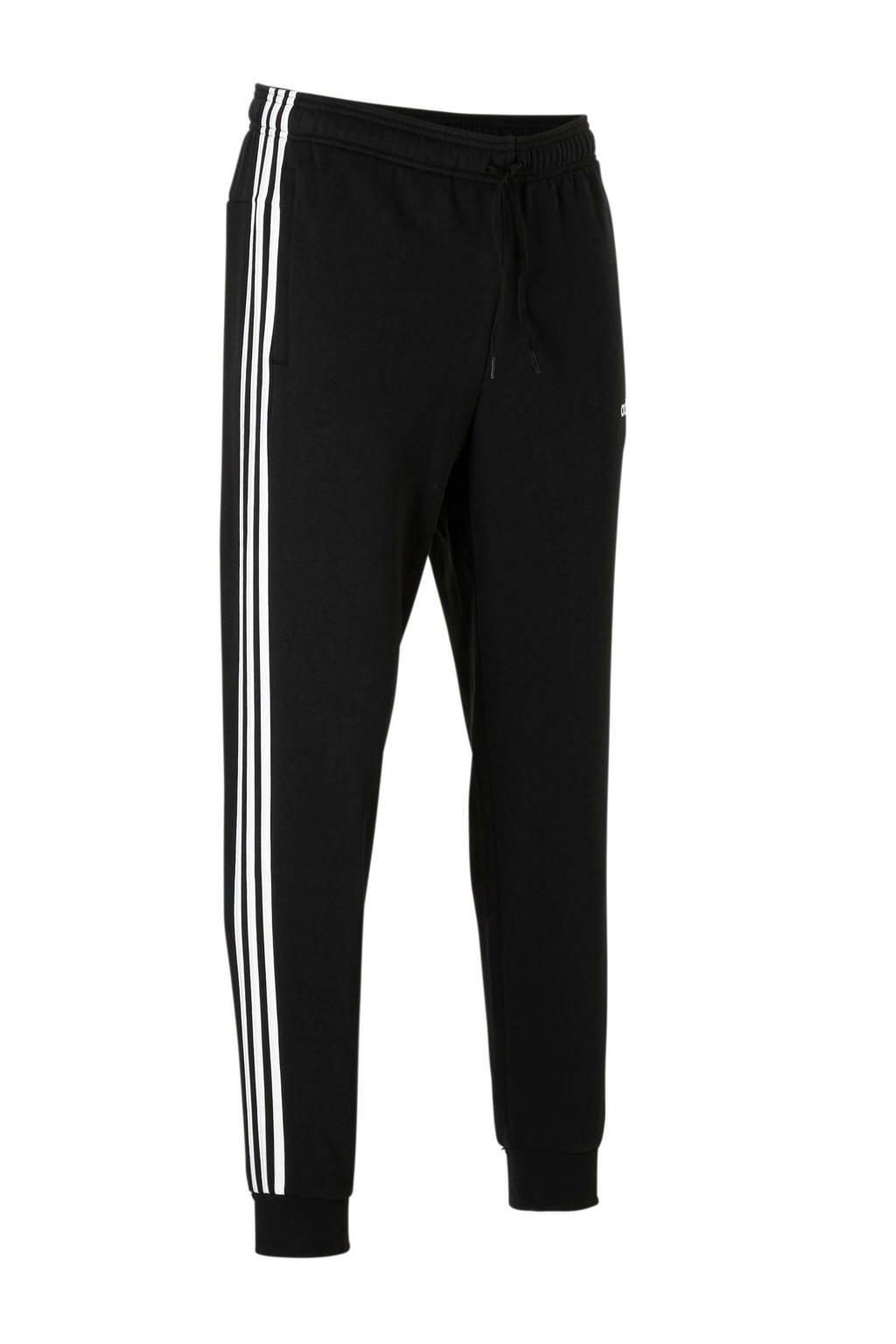 adidas performance   joggingbroek zwart, Zwart/wit