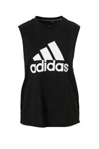 adidas Performance sporttop zwart, Zwart