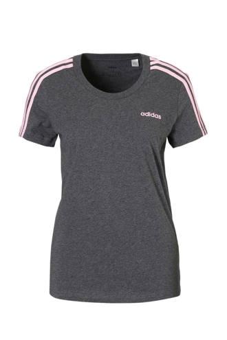 performance sport T-shirt grijs