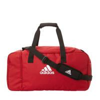 adidas Performance   sporttas Tiro DU M rood, Rood/wit/zwart