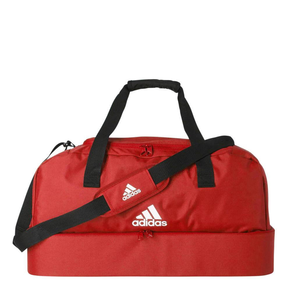 adidas performance   sporttas Tiro M rood, Rood/wit/zwart