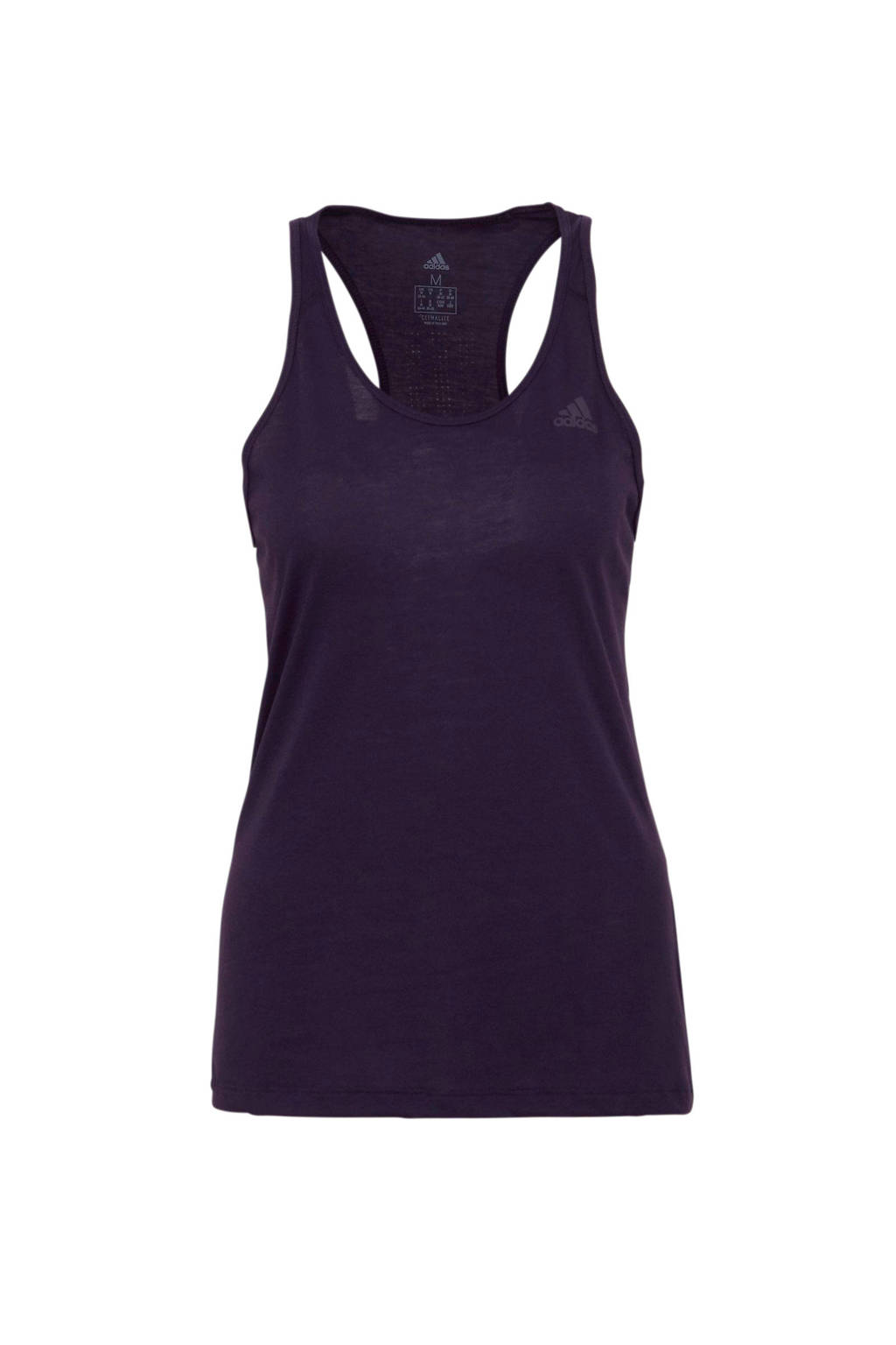 adidas performance sporttop paars, Paars