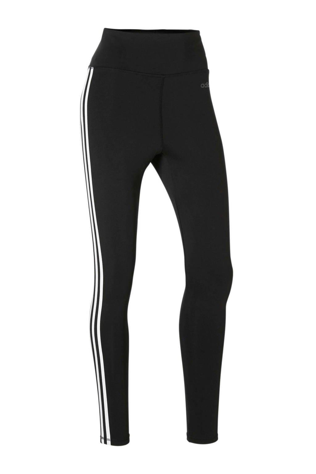 adidas Performance Designed2Move sportbroek zwart/wit, Zwart/wit