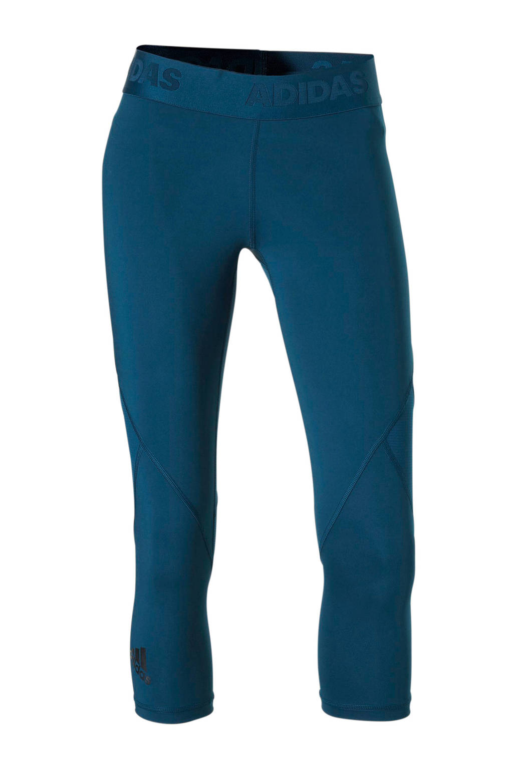 Capri Sportlegging.Adidas Performance Capri Sportlegging Petrol Wehkamp