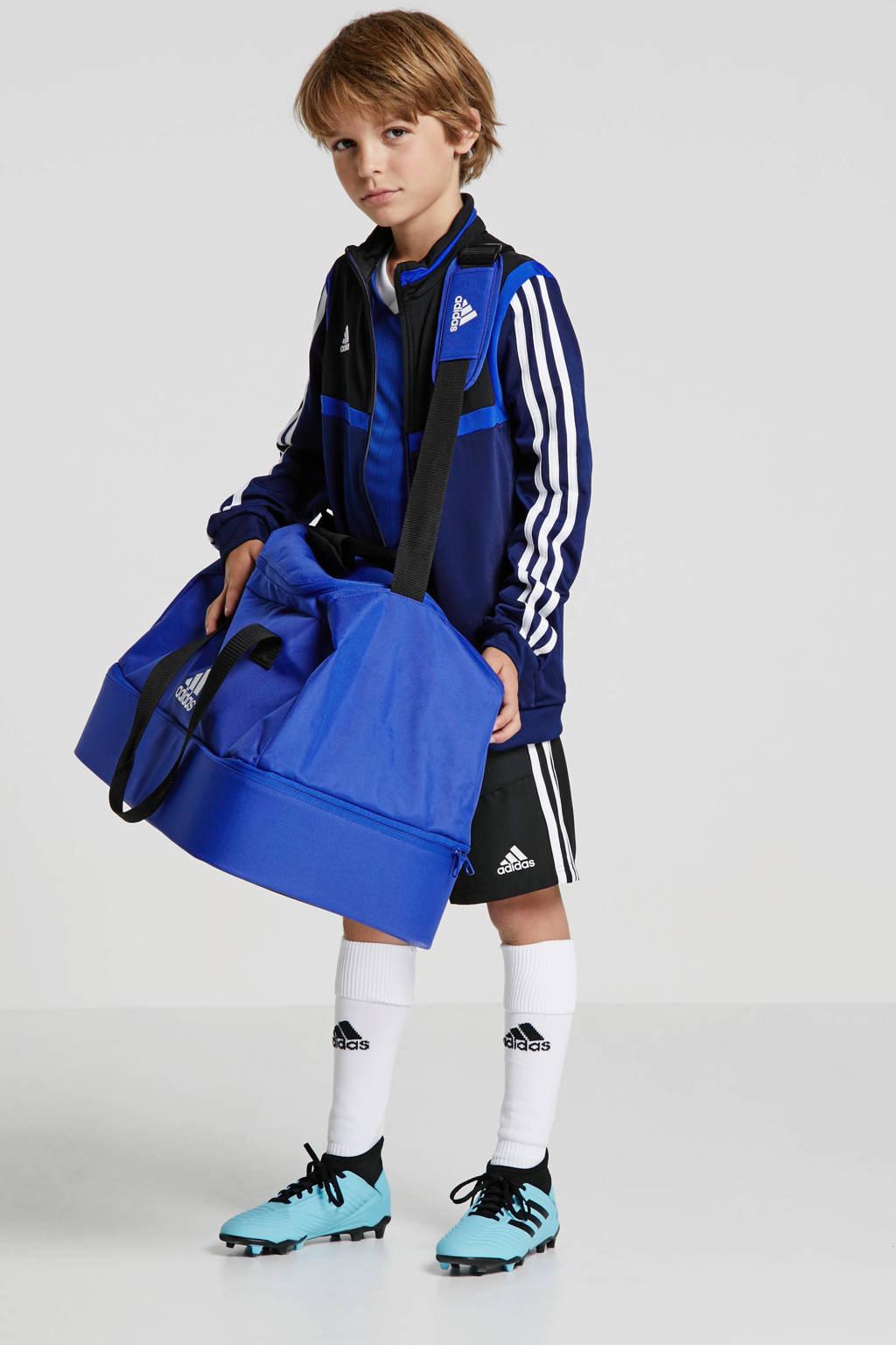 adidas performance   sporttas Tiro M, Blauw/wit/zwart