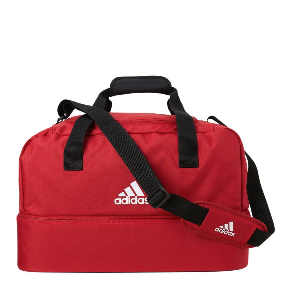 adidas performance   sporttas Tiro S rood, Rood/wit/zwart