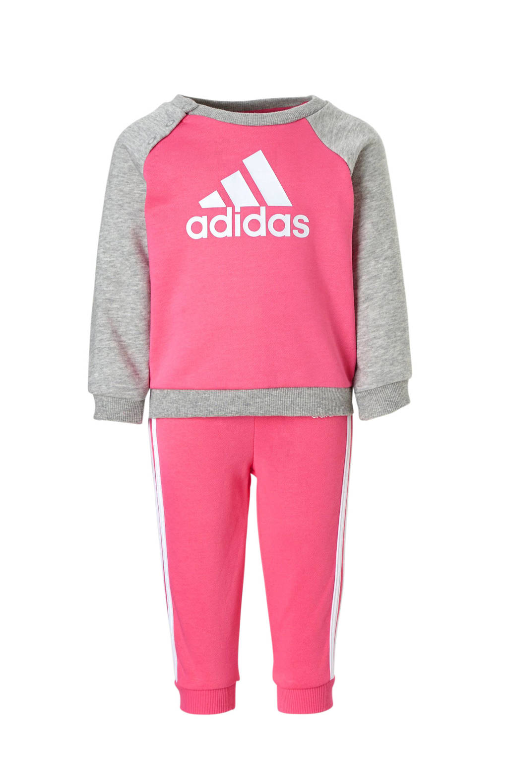 adidas performance trainingspak roze/grijs, Roze/grijs