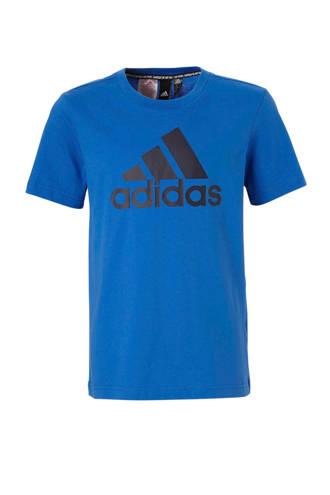 performance   performance sport T-shirt blauw