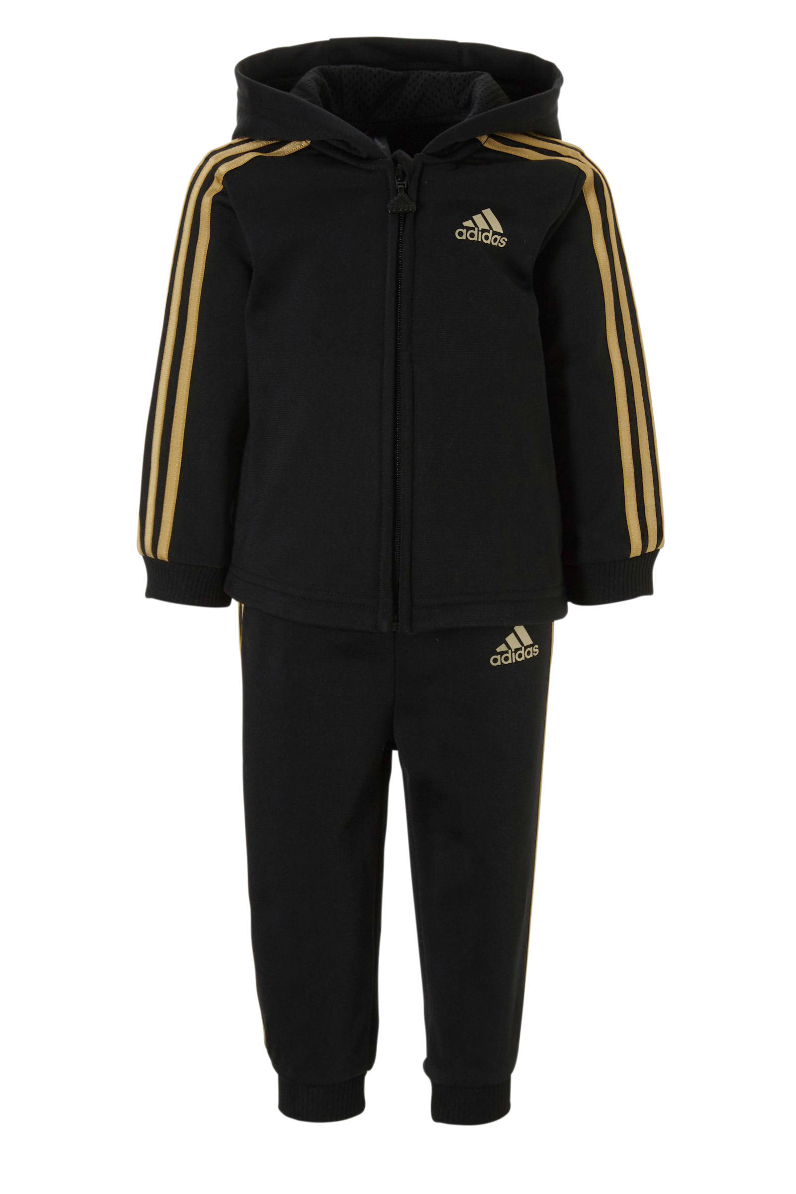 adidas Performance performance trainingspak zwart | wehkamp