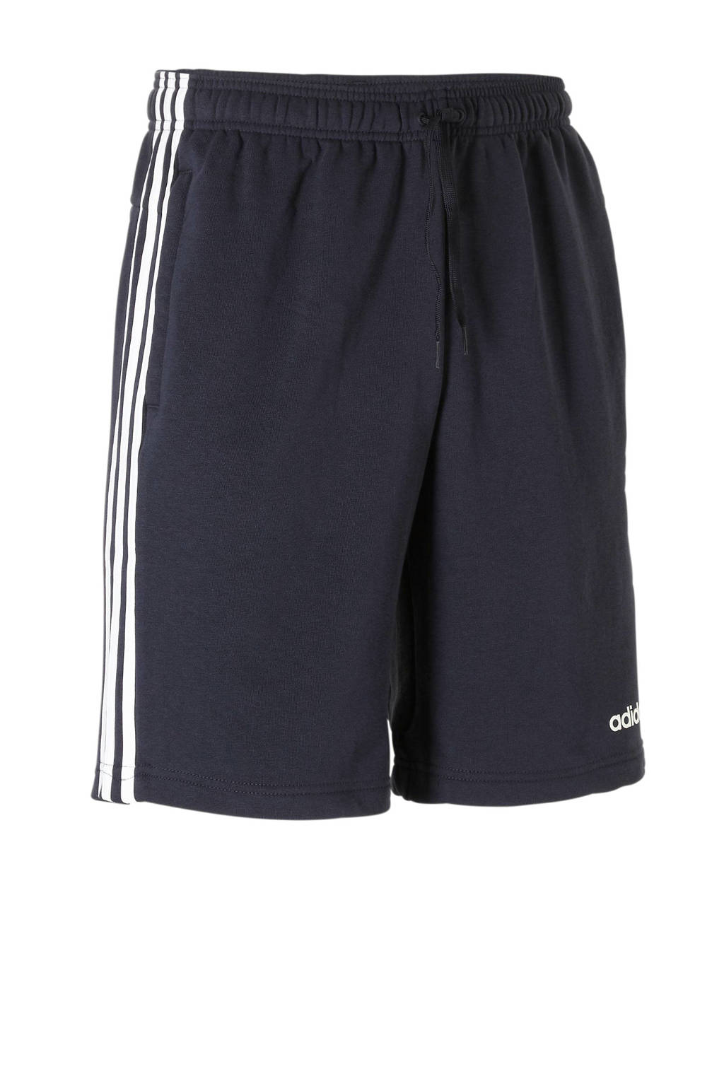 adidas performance   sportshort donkerblauw, Donkerblauw/wit