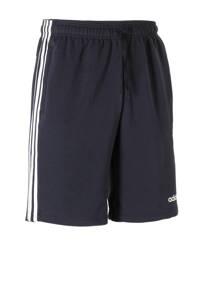 adidas   sportshort donkerblauw, Donkerblauw/wit