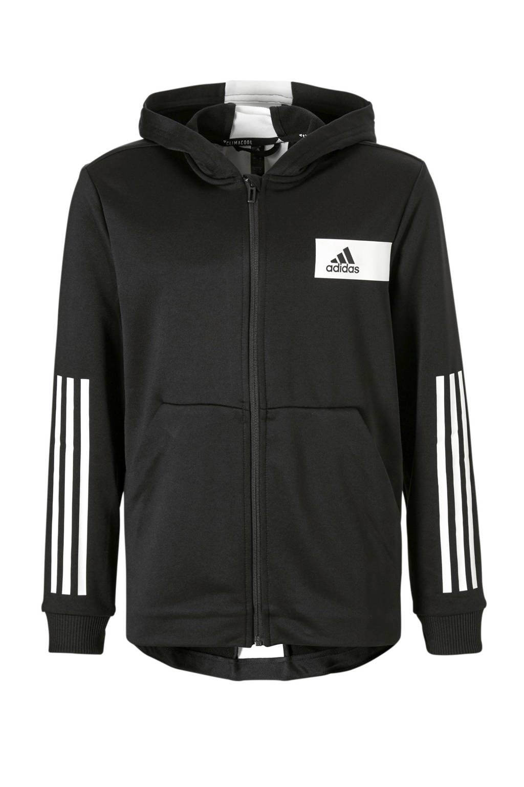 adidas performance   Freelift sportvest zwart, Zwart/wit