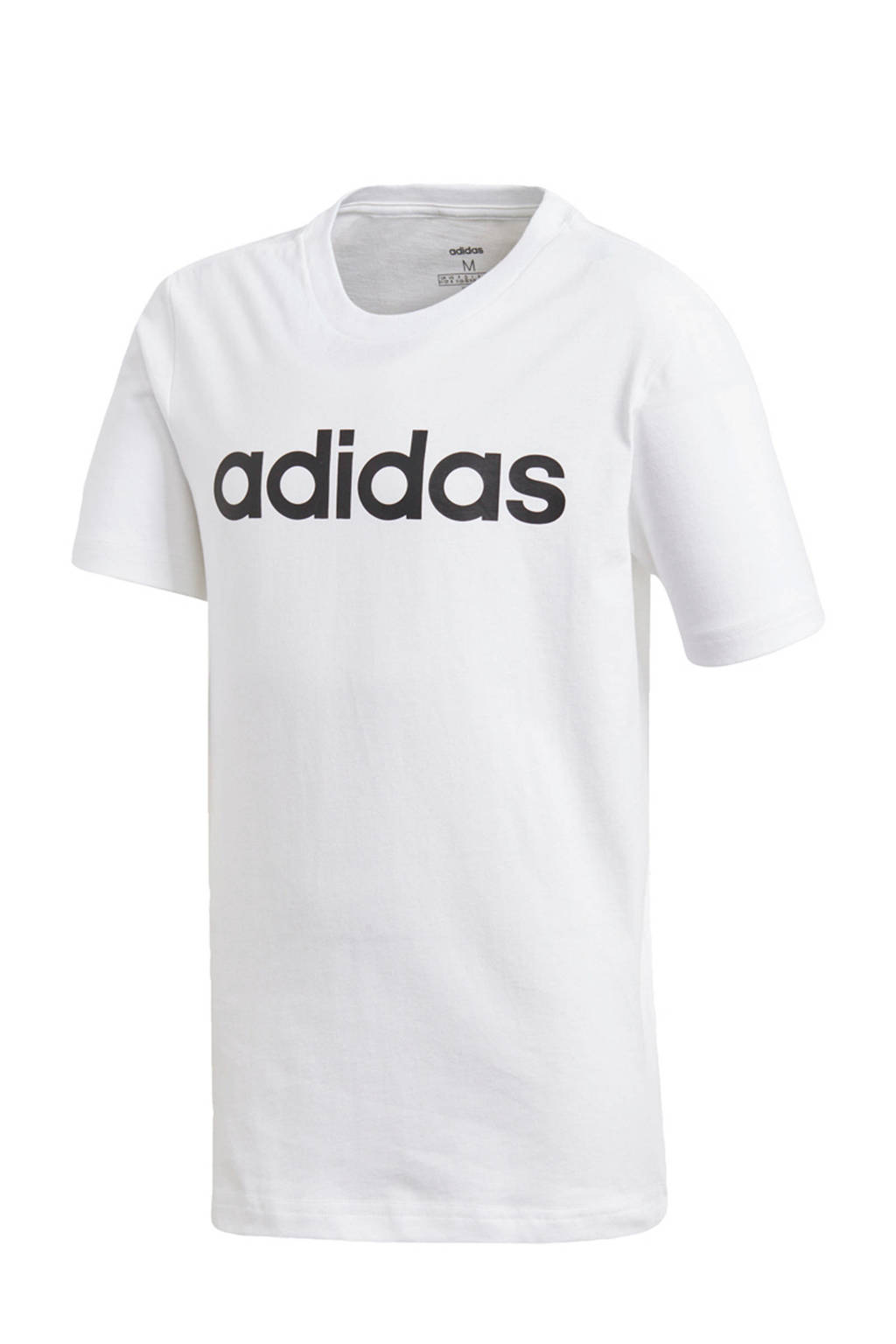 adidas Performance   sport T-shirt, Wit/zwart