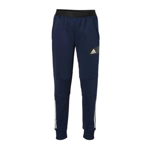 adidas performance sportbroek donkerblauw