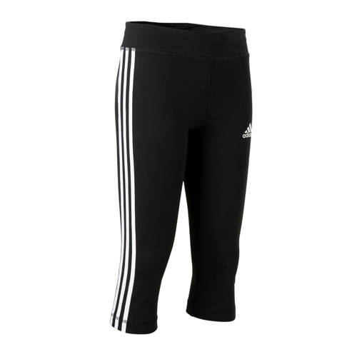 adidas Performance functionele tights YOUNG GIRL TRAINING EQUIPMENT 3 STRIPES 3-4 TIGHT