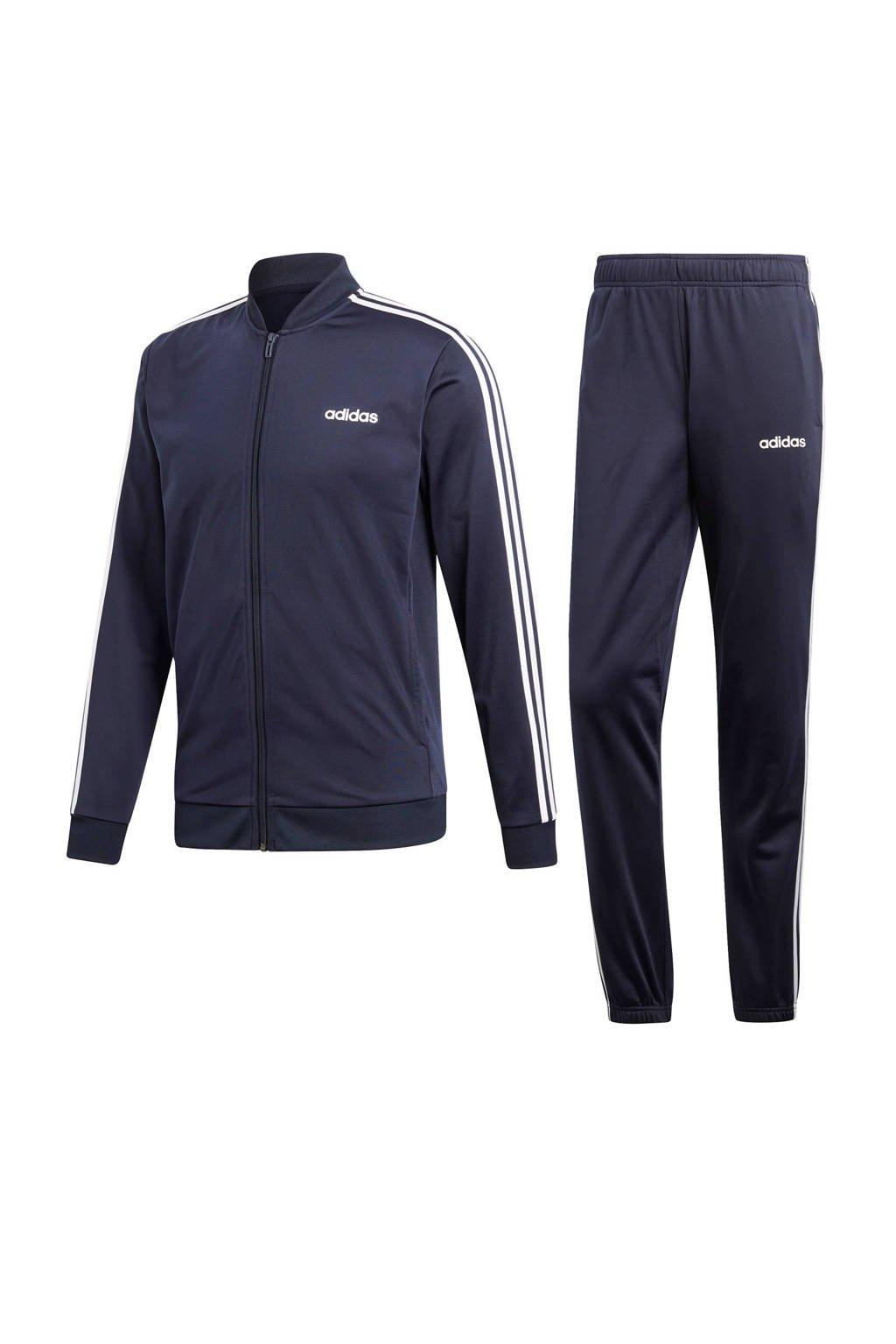adidas Performance   trainingspak donkerblauw, Donkerblauw